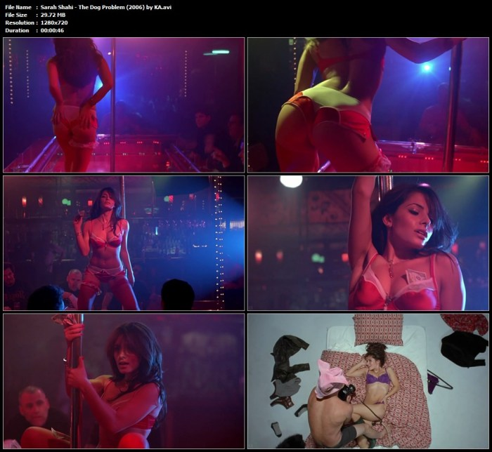 Sarah Shahi - The Dog Problem (2006) by KA.avi